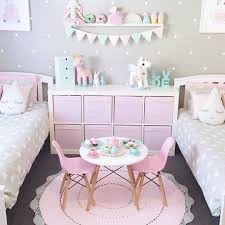 Adorable Girl S Bedroom Ideas Pink And Gray And Neutrals With Unicorn Touches Room Ideas Bedroom Girl Room Kid Room Decor