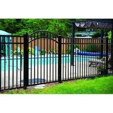 Wayside State Line Of Aluminum Fence Georgia Arched Metal Gate Size 5 H X 3 9 W X 0 1 D Aluminum In 2020 Aluminum Fence Aluminum Pool Fence Aluminum Fence Gate