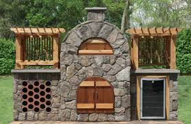 wood fired pizza oven and smoker kits