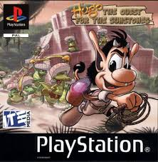 hugo quest for the sunstones ps1 we