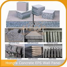 make cement wall panels by eps expanded