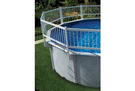 Ag Pool Universal Resin Fence Kit For 21 Uprights 54801