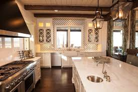 rustic kitchen with a texas