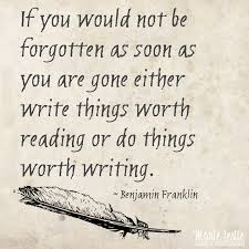 Image result for Look up inspirational quotes for writers about leaving your mark