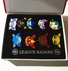 9 Cái/bộ Pokemon Tập Gym Phù Hiệu Kanto Johto Hoenn Sinnoh Unova Kalos  League Vùng Cam Quần Đảo Chân|