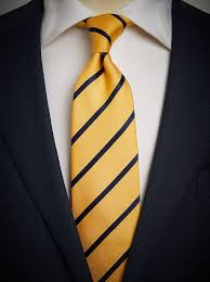 yellow striped tie free express