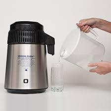 spring flow stainless distiller pp jug