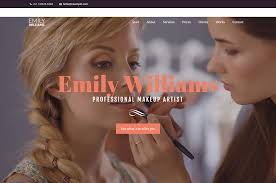 wordpress themes for makeup artistry