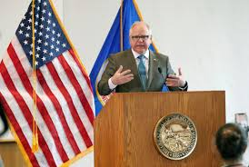 Walz self-quarantines; wrestles with ...