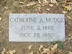 Catherine Ada Reed Mudge (1892-1960) - Find A Grave Memorial