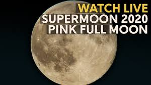 SuperMoon 2020 LIVE: The biggest Full ...