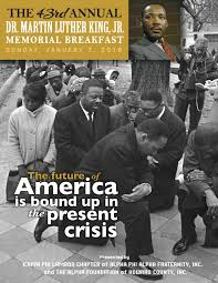 43rd Annual Dr. Martin Luther King, Jr. Scholarship Breakfast by Kerry G.  Johnson - issuu