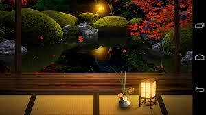 zen garden live wallpaper