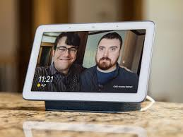picture frame with an echo show