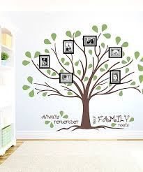 Brown Olive Family Roots Frame Wall Decal Set Frames On Wall Wall Decals Family Roots