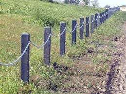 The Grass Is Green On Both Sides Of The Plastic Fence Posts Alberta Plastics Recycling Association