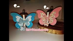 Invitaciones De Mariposas Butterfly S Cards Youtube