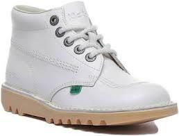 kickers kick hi womens leather casual