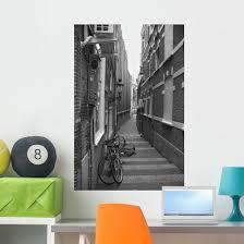 Narrow Street Wall Decal Wallmonkeys Com