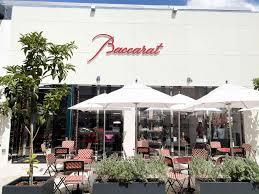 baccarat boutique bbar lounge opens