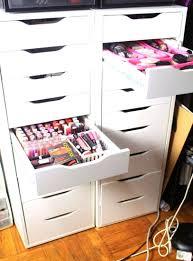 diy makeup drawer organizer announcing