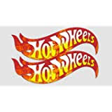 Amazon Com Hot Wheels 2 Sides 5 Up To 62 Full Color Vinyl Decal Sticker Sports Outdoors
