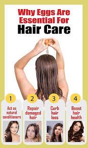 applying eggs on hair egg hair masks