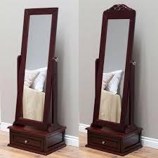full length tilting cheval mirror in