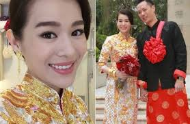 HK actress Myolie Wu gets hitched in star-studded wedding | Wedding hair  and makeup, Chinese bride makeup, Chinese bride