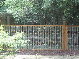 Karl Conrad Plastic Bottle Fence 2 Front Yard Fence Front Yard Backyard Fences