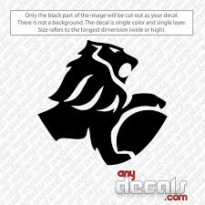 Car Decals Car Stickers Holden Lion Car Decal Anydecals Com