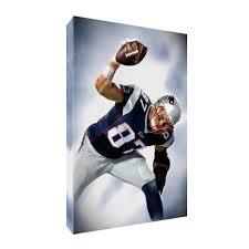 New England Patriots Rob Gronkowski Poster Photo Painting On Canvas Wall Art Ebay