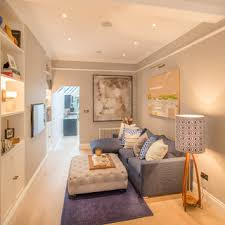 transitional living room london