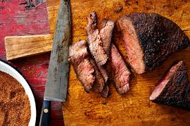dry rubbed london broil recipe nyt