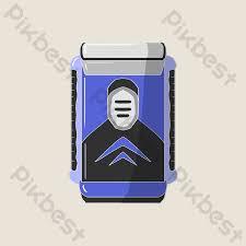 Minh họa máy cạo râu điện màu xanh | Công cụ đồ họa PSD Tải xuống miễn phí  - Pikbest