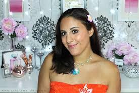 vaiana disney princess makeup tutorial
