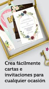Hacer Tarjetas De Invitacion Digitales Gratis For Android