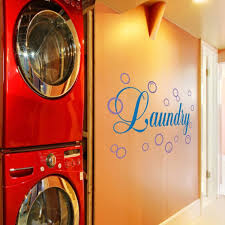 Bubbles White Words Black Vinyl Laundry Room Wall Quote Bubble Wall Decal Wall Sticker Wall Graphic Wall Mural Laundry Room Art Decoration B Wall Stickers Murals