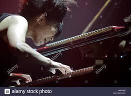 Jazz pianist Hiromi Uehara Stock Photo - Alamy