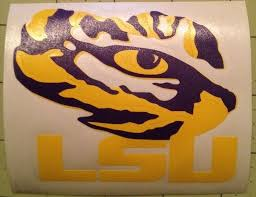 Lsu Tiger Eye Decal For Your Yeti Rambler Tumbler For Sale Online
