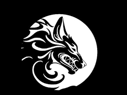 Tribal Wolf Werewolf Moon Vinyl Decal Car Wall Window Sticker Choose Size Color Ebay
