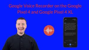 Voice Recorder on the Google Pixel 4 ...