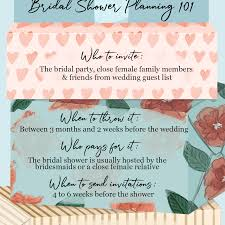 bridal shower etiquette 101 everything