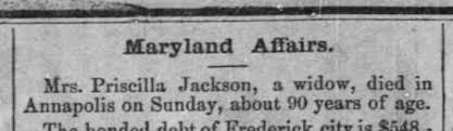 Possibly Priscilla Cole Lynch Jackson, 1885 ????? - Newspapers.com
