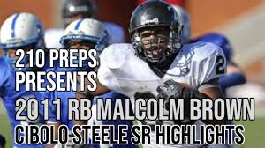 RB Malcolm Brown #28 *SIGNED LOI TO ...