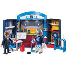 Playmobil Nhl Locker Room Play Box Walmart Com Walmart Com