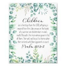 Psalm 127 3 Gifts On Zazzle