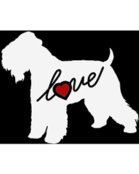 New Deal For Wheaton Terrier Dog Animal Puppy Love Heart Custom Car Decal Window Sticker Vinyl Free Shipping