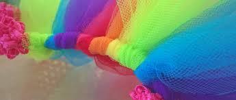 how to make a rainbow tutu skirt