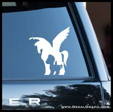 Pegasus Now Then Disney S Hercules Inspired Fan Art Vinyl Car Lapto Decal Drama